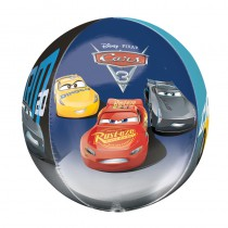 BALLON ORBZ TRANSPARENT CARS 3