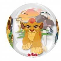 BALLON ORBZ TRANSPARENT LION GUARD