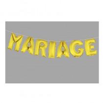 BALLONS MARIAGE OR 36CM