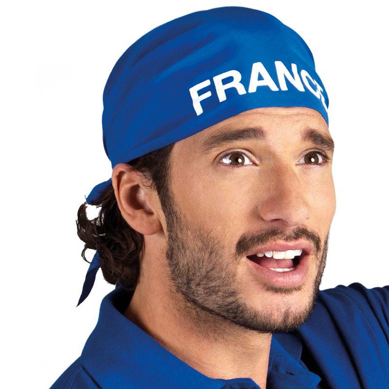 BANDANA FRANCE BLEU ET BLANC