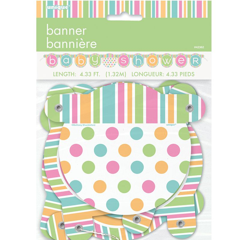 BANDEROLE CARTON BABY SHOWER