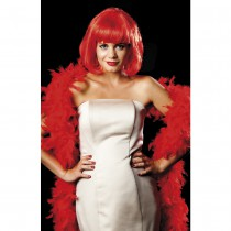 BOA PLUMES GLAMOUR 180CM 80G - ROUGE
