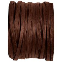 BOBINE DE RAPHIA 4MM*20M - MARRON