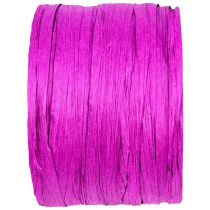 BOBINE DE RAPHIA 4MM*20M - ROSE