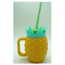 BOCAL A BOIRE ANANAS 530ML - 3 ASS