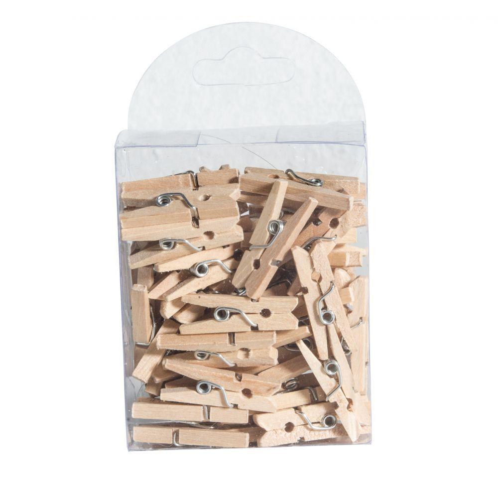 boite mini pince à linge décoration table