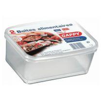 Boîtes alimentaires  1,1 litre x 2