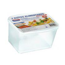 Boîtes alimentaires  1,5 litre x 2 unité