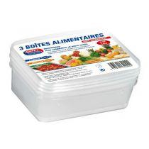Boîtes alimentaires0,8 litre x 3