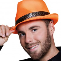 BORSALINO FUNKY ORANGE FLUO ADULTE