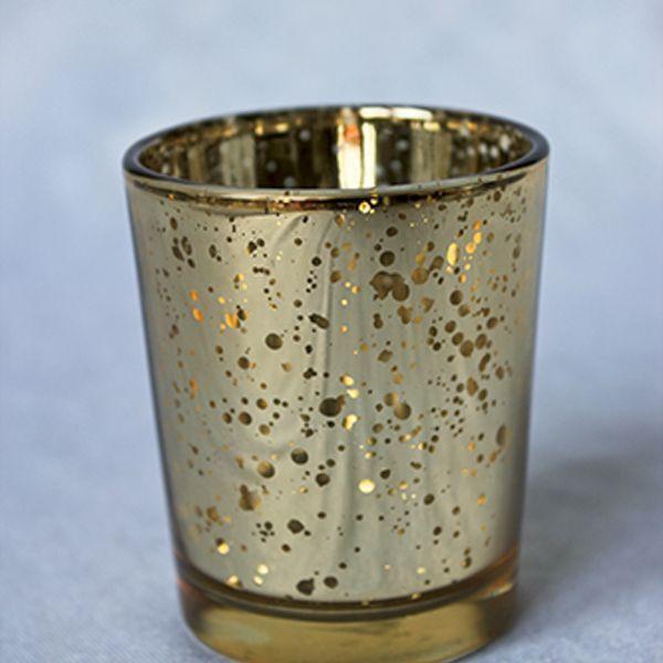bougeoir or métal