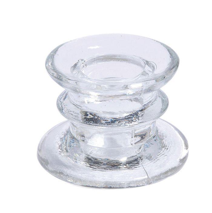 bougeoir suède transparent