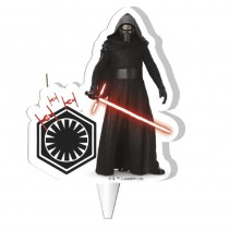 BOUGIE 2D KYLO REN STAR WARS™ 7,5 CM