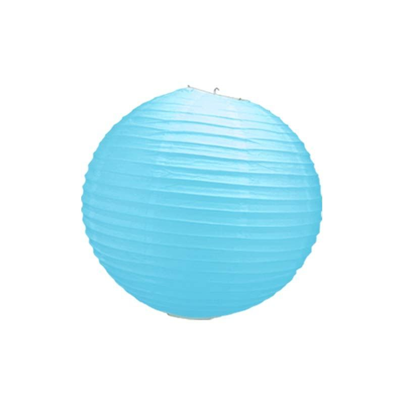 boule chinoise turquoise 50 cm