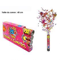 CANON À CONFETTIS 80 ANS