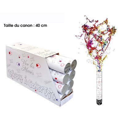 canon confettis vive les mari s d coration pas cher mariage. Black Bedroom Furniture Sets. Home Design Ideas