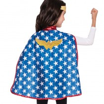 CAPE + TIARE WONDER WOMAN ENFANT