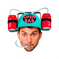 CASQUE ANTI-SOIF OPEN BAR