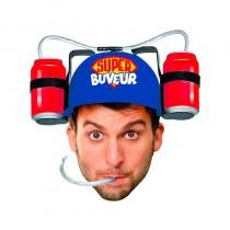 CASQUE ANTI-SOIF SUPER BUVEUR