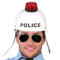 CASQUE POLICE SONORE ET LUMINEUX