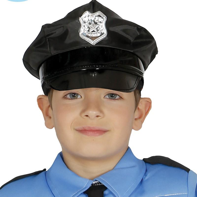 CASQUETTE POLICIER ENFANT