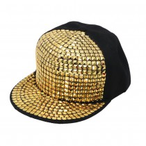 CASQUETTE POP STAR OR ADULTE