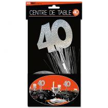 CENTRE DE TABLE 40 ANS