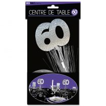 CENTRE DE TABLE 60 ANS