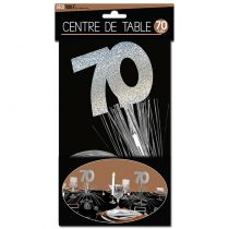 CENTRE DE TABLE 70 ANS