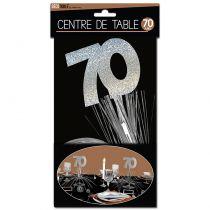 CENTRE DE TABLE 70 ANS