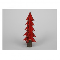 CENTRE TABLE SAPIN 3D ROUGE 35 CM