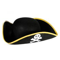 CHAPEAU PIRATE FEUTRINE T.60