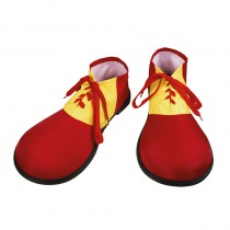 CHAUSSURES DE CLOWN ROUGE ADULTE