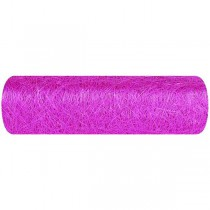 CHEMIN DE TABLE ABACA 30CM - FUCHSIA