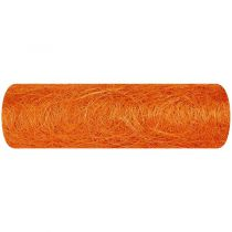 CHEMIN DE TABLE ABACA 30CM - ORANGE