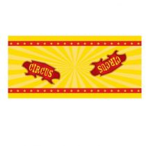 CHEMIN DE TABLE CIRCUS 30 CM X 5 M