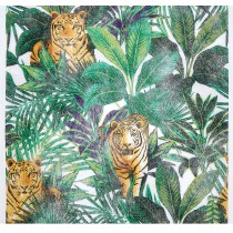 CHEMIN DE TABLE COLONIAL TIGRE 30CMX5M
