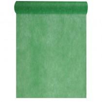 chemin de table élégance vert sapin décoration