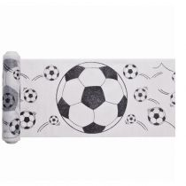 chemin de table motif ballon de foot