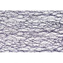 CHEMIN DE TABLE GLITTER - NOIR 30 CM* 5 M