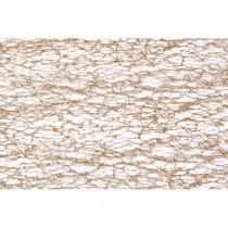 CHEMIN DE TABLE GLITTER - OR 30 CM*5 M