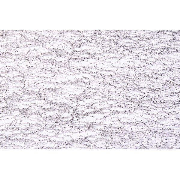 CHEMIN DE TABLE GLITTER 30CM*5M - ARGENT