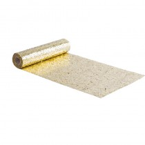 CHEMIN DE TABLE PAILLETTES OR 28CMX3M