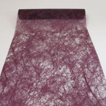 CHEMIN DE TABLE ROMANCE - PRUNE 60 CM X 10 M