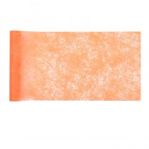 CHEMIN DE TABLE ROMANCE 30CM - ORANGE