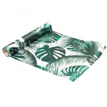 CHEMIN DE TABLE SATIN TROPICAL 28CMX5M