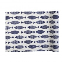 CHEMIN TABLE POISSON BLANC 3M
