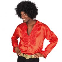 CHEMISE DISCO ROUGE HOMME