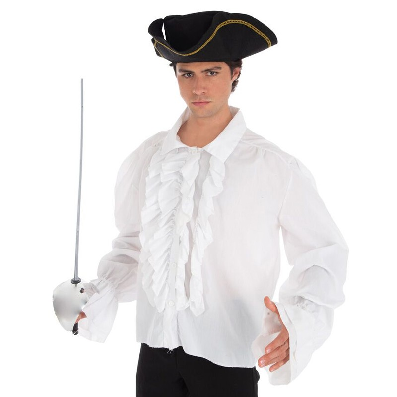 CHEMISE PIRATE  BLANC ADULTE