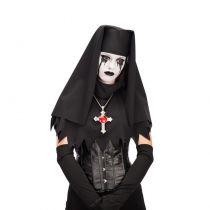 coiffe de nonne noire